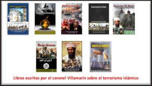 Libros terrorismo islámico, coronel Villamarín